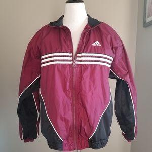Adidas Men's Zip-up Windbreaker Jacket